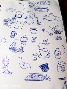 Tea sketches