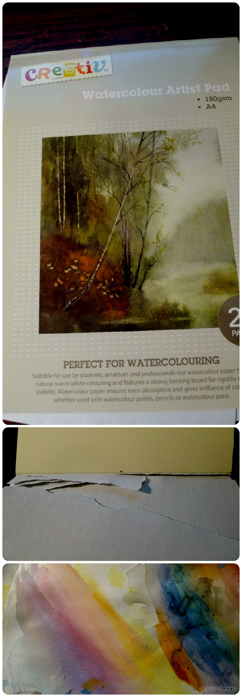 Cheap Watercolour Paper