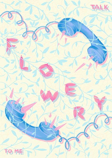 talk flowery to me